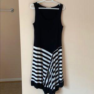 Spense Striped Tank Dress